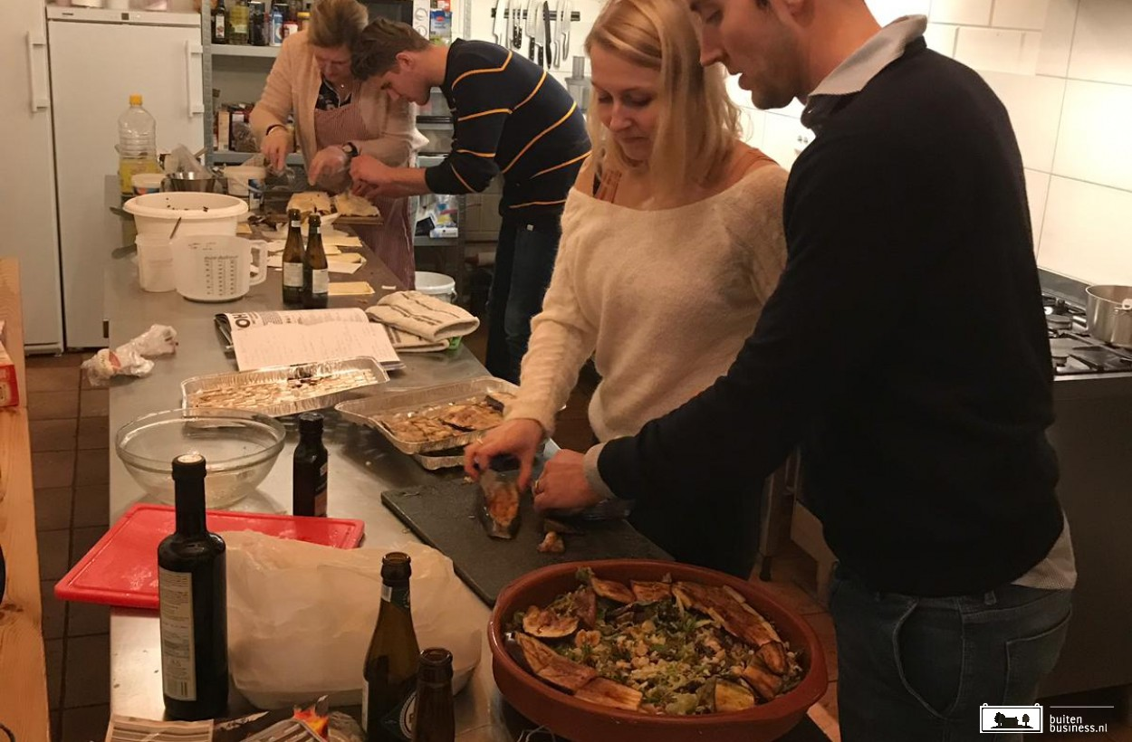 Een kookworkshop in de professionele keuken