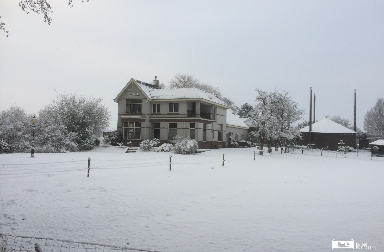 Uizicht in de winter